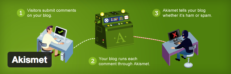 Akismet WordPress plugin om spam tegen te houden