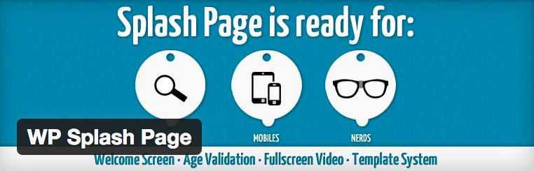 Met WP Splash Page maak je een eigen WordPress laadscherm