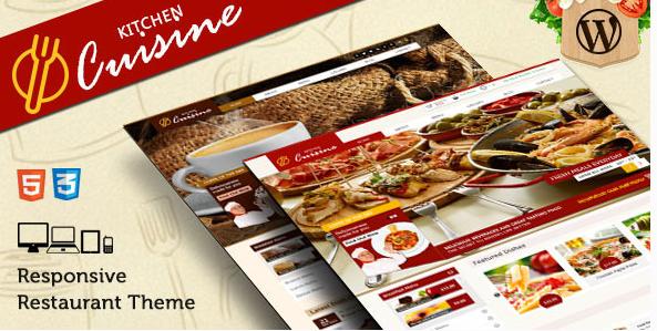 Kitchen Cuisine - Restaurants & Café WP Theme