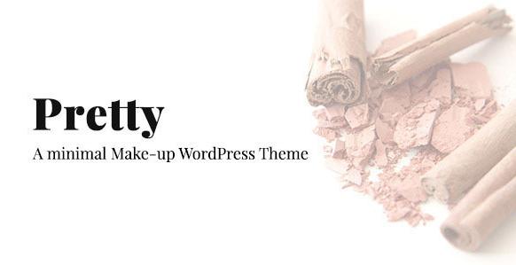 Pretty - Minimal Makeup Responsive Wordpress Thema