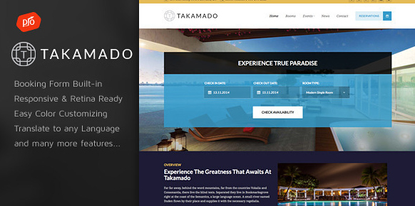 Takamado - Hotel & Resort Thema