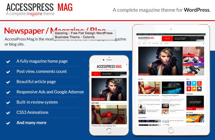 AccesPress Mag WordPress Thema