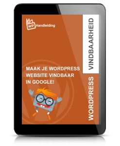 WordPress Google vindbaarheid optimalisatie ebook voorbeeld