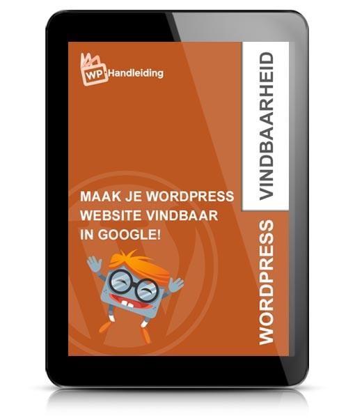 WordPress Google vindbaarheid optimalisatie ebook voorbeeld