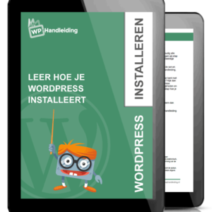 WordPress hulp met installeren van Wordpress websitet