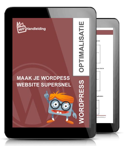 WordPress-website-snel-maken-met-de-WordPress-optimalisatie-handleiding