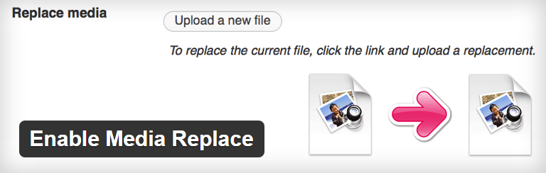 Enable Media Replacement in WordPress plugin