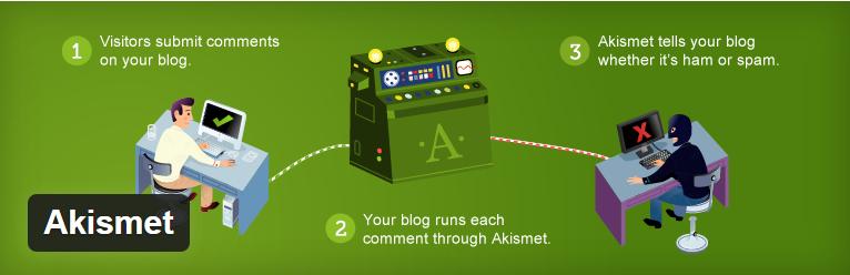Houd spam tegen met de Akismet plugin