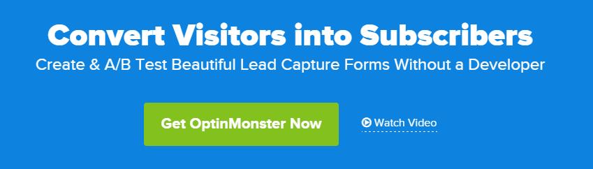 Optinmonster popup plugin voor wordpress