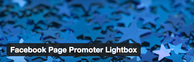 de Facebook Page Promotor Lightbox plugin voor WordPress