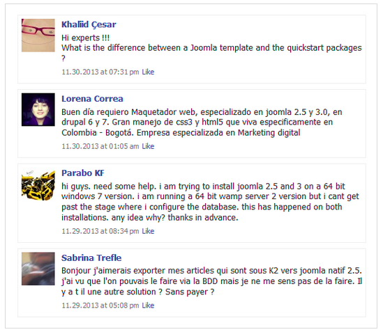 Facebook Wall & Social Integration Plugin