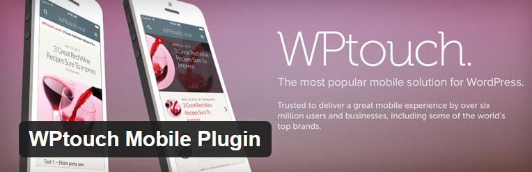 WP Touch plugin voor wordpress mobielvreindelijke website