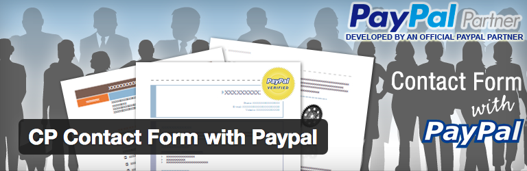 CP Contact Form with Paypal voor WordPress