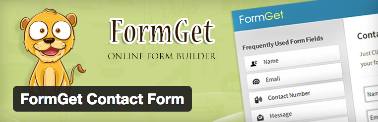 FormGet Contact Form voor WordPress