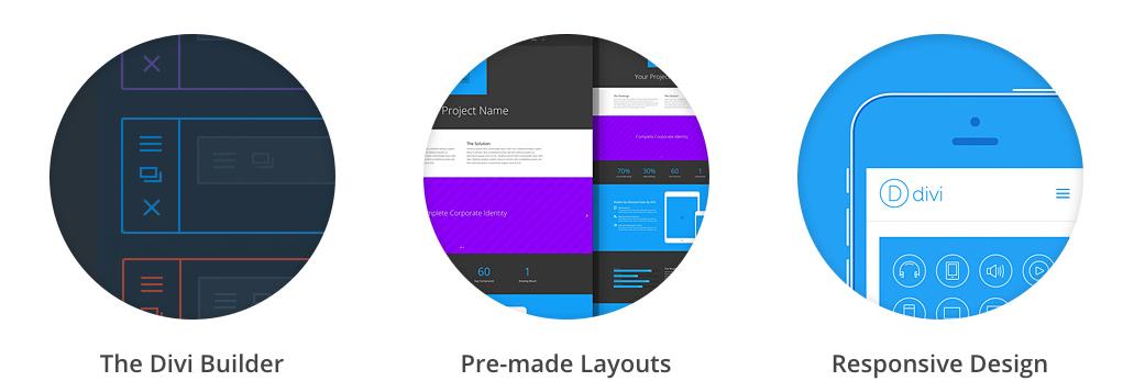 Divi wordpress thema premium eigenschappen