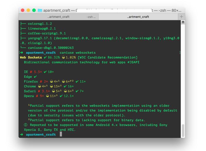 Controle van de website code in verschillende Internet Browsers