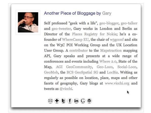 WP Biographia author box voor wordpress