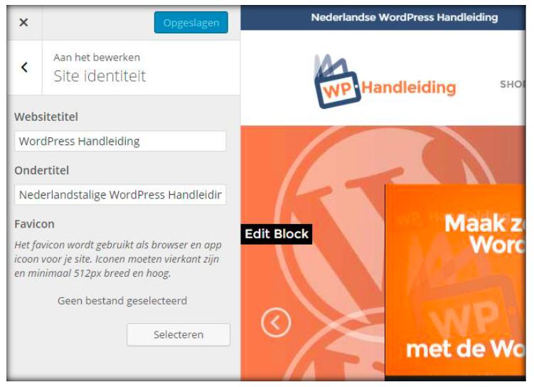WordPress favicon toevoegen in WordPress