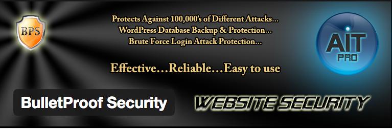 Bulletproof security WordPress beveiliging plugins