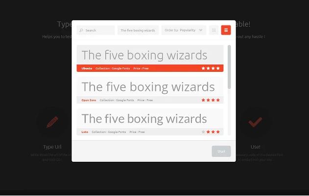 TypeWonder Google Chrome Extensie