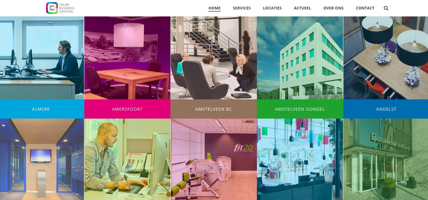 Color BC WordPress website
