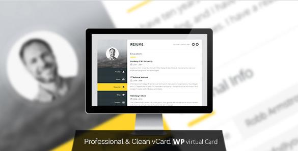Wordpress vCard