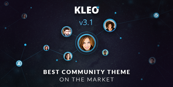 KLEO – Next level WordPress Social Theme