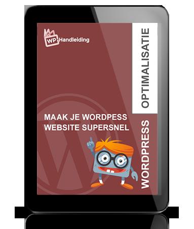 WordPress-Snelheid-optimalisatie-handleiding