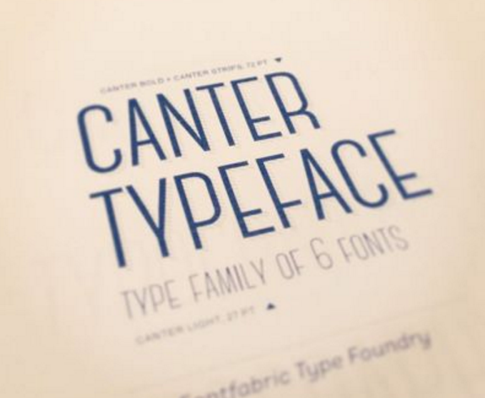 Canter – Contemporary Free Font