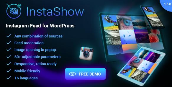 InstaShow op je website weergeven