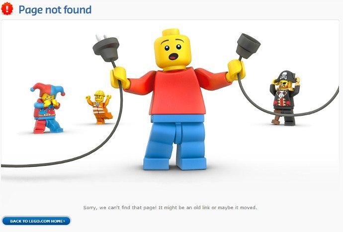 404 pagina