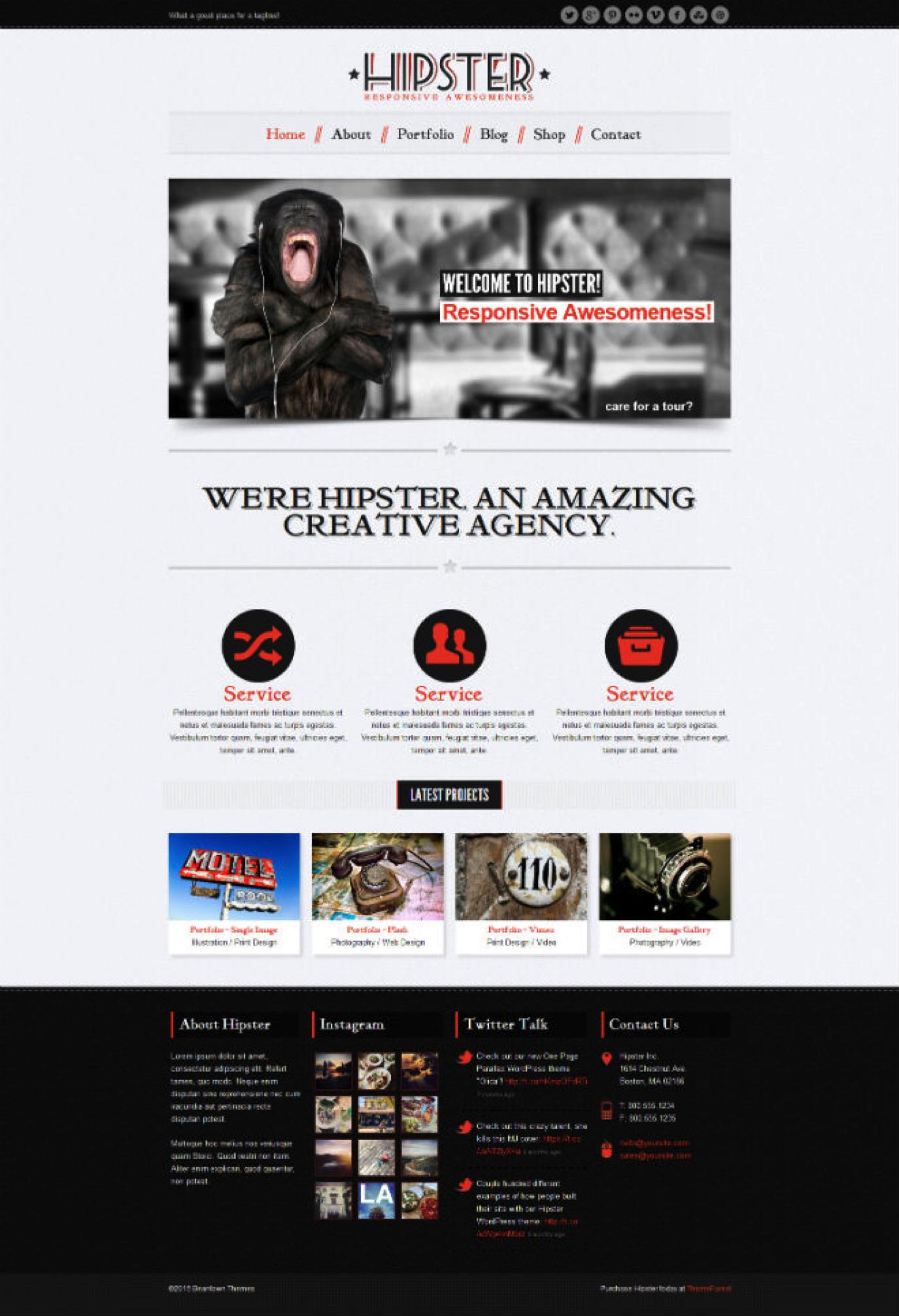 zakelijke WordPress thema's
