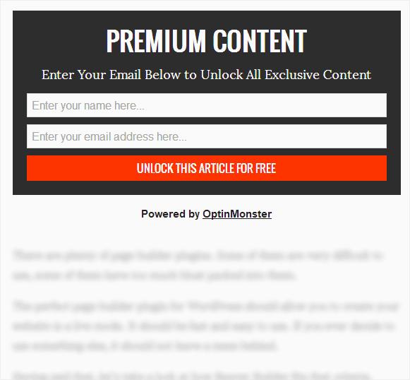 content locking