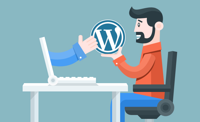 website op wordpress