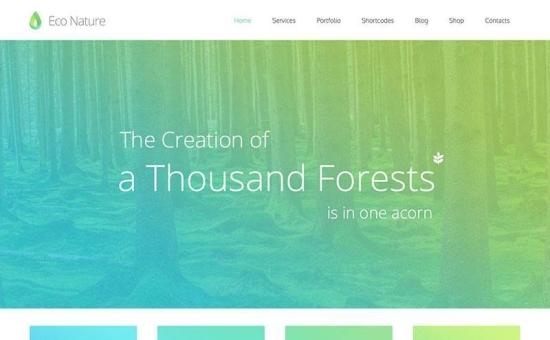 groene wordpress thema's