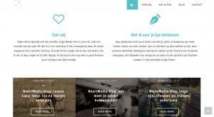 website in Jupiter-Thema