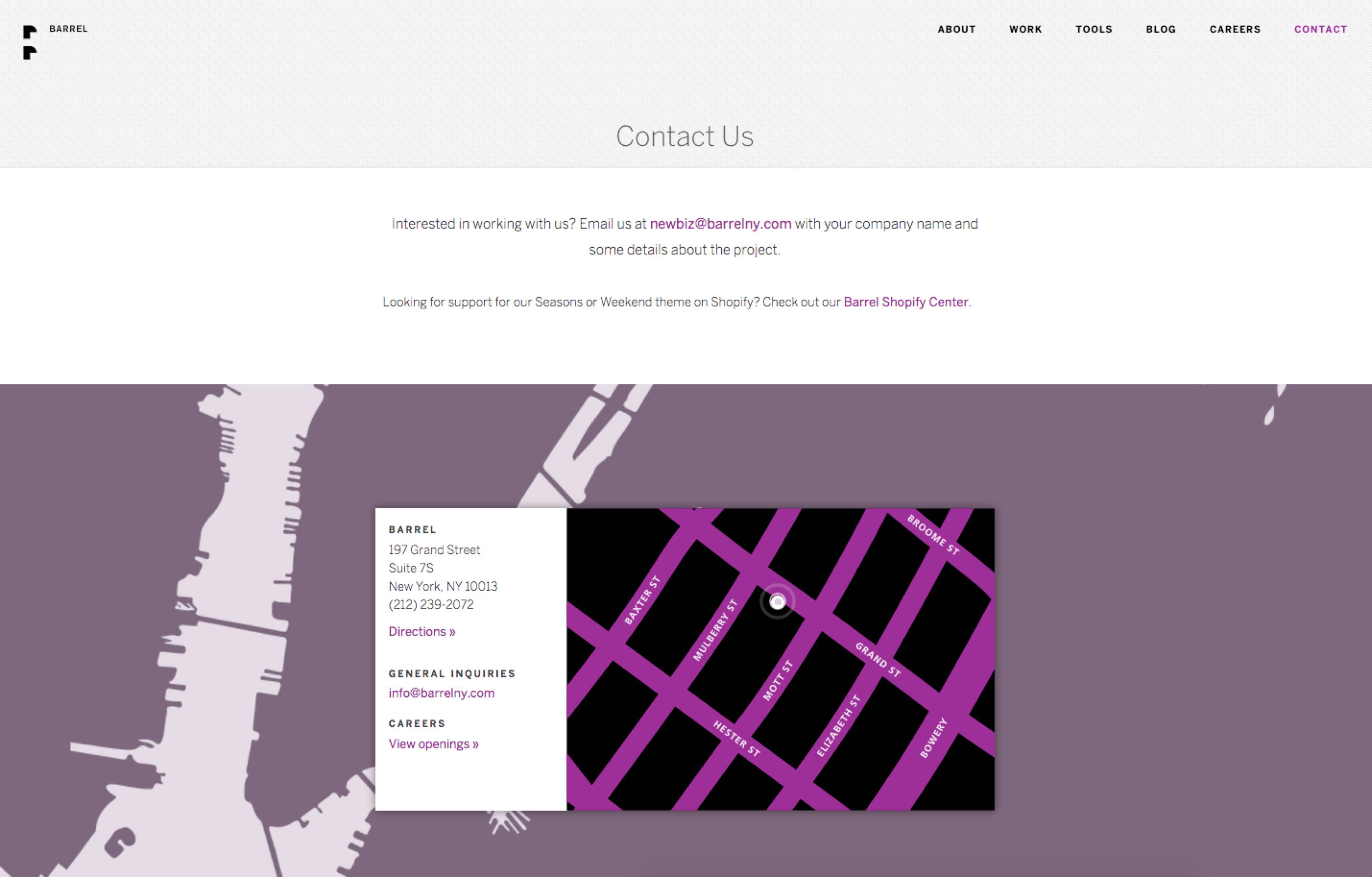 wordpress contactpagina