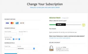 spam filteren met Akismet