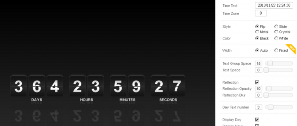 countdown plugins