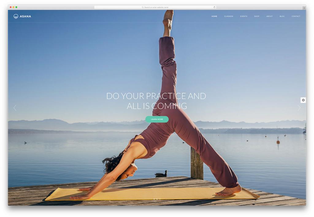 yoga thema's