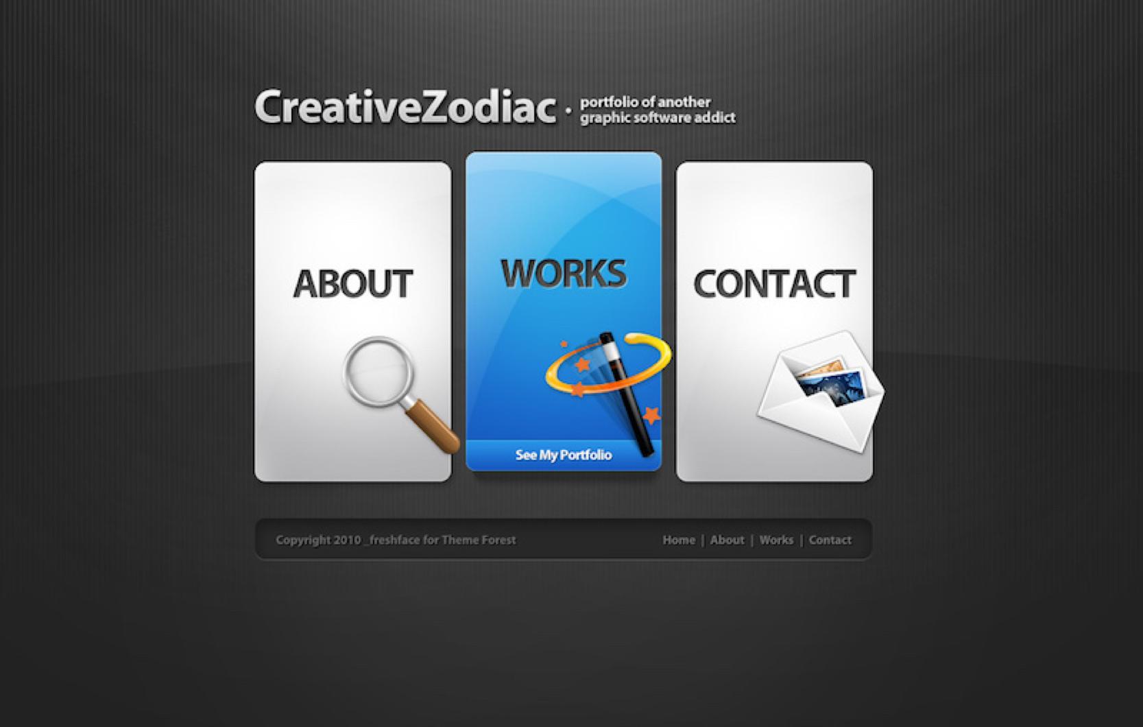 creative zodiac