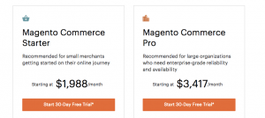 Magento Prices Webshops