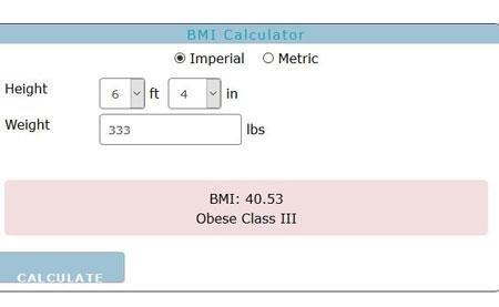 BMI calculators