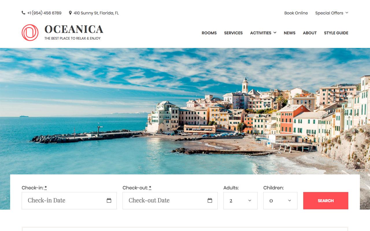 WordPress thema's voor hotels