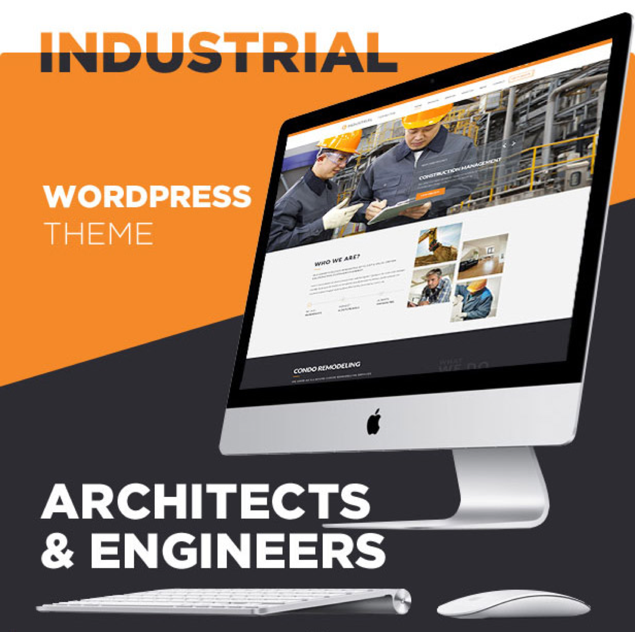 industriele wordpress thema's