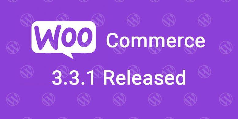 woocommerce 3.3.1