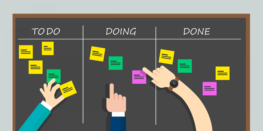 kanban board in WordPress