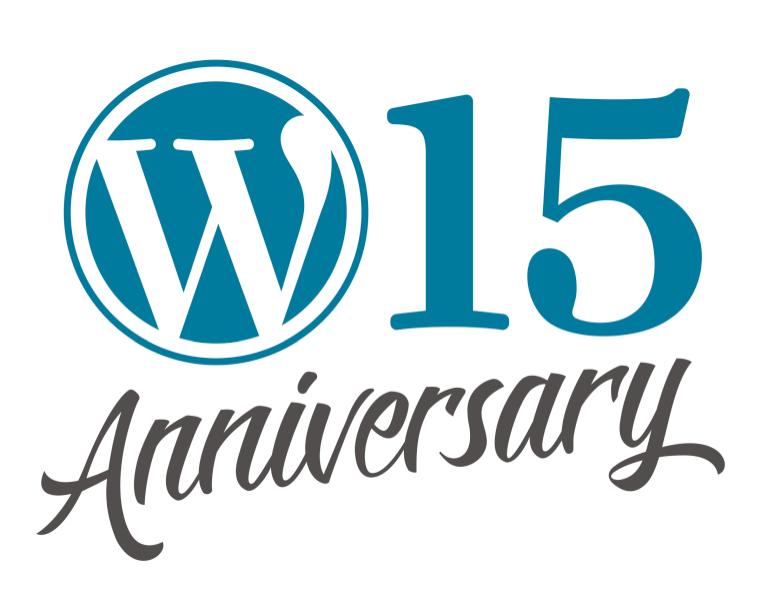 verjaardag van WordPress