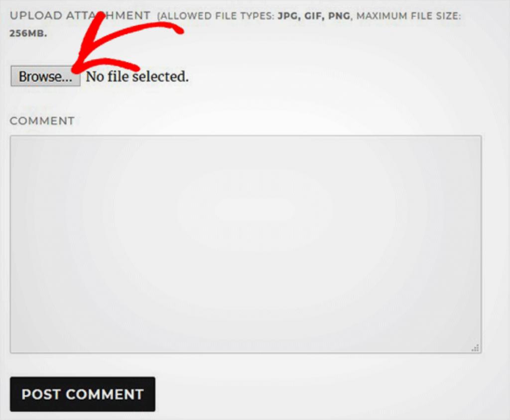 afbeeldingen in WordPress reacties