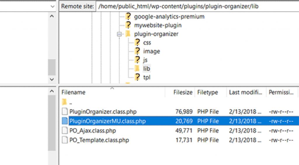 WordPress plugins uitschakelen